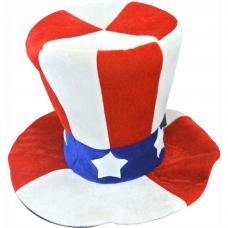 chapeau oncle sam en tissu