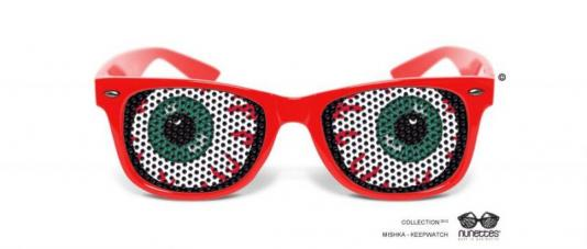 lunettes humoristiques mishka