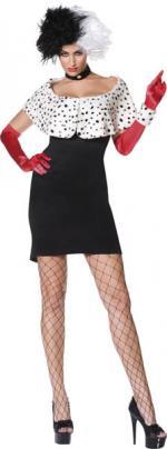 Déguisement Cruella sexy