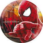 Assiettes Spiderman Carton