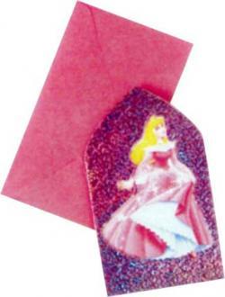 Cartes Invitations Princesse Cendrillon