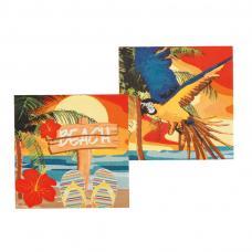 serviettes hawaienne