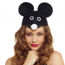 coiffe de souris pour adulte