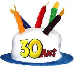 chapeau 30 ans