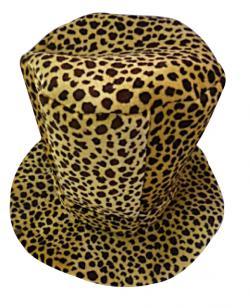 Chapeau Haut de Forme Léopard