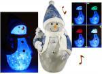 Bonhomme de neige Lumineux et Musical
