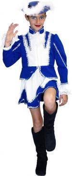 Déguisement Majorette Bleu Enfant