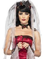 Déguisements Kit mariée gothique