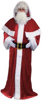 Déguisement Père Noël Manteau Luxe