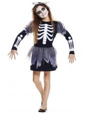 deguisement robe squelette imprimee