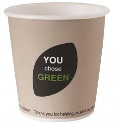 45 Gobelets carton biodégradable de 12 cl