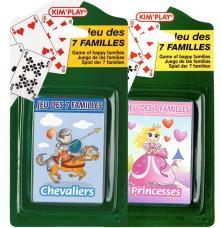 jeu des 7 familles assortis