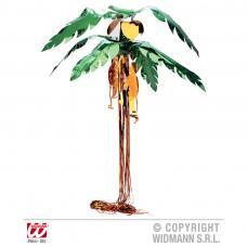 3 palmiers 3d en metal avec singes et coconuts