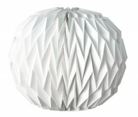 boule origami blanche