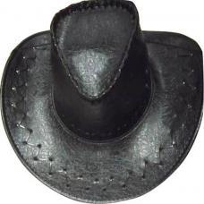 chapeau cowboy croco noir