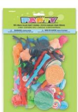 sachet de 64 jouets pour pinata