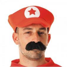 casquette plombier de couleur rouge
