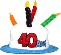 chapeau 40 ans