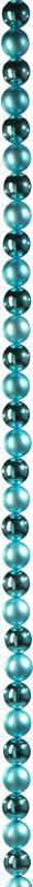 Guirlande de Boules Turquoise Mat