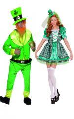 Déguisement Saint Patrick Couple