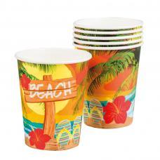 gobelets carton hawaien