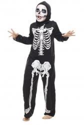 Déguisement tunique squelette pas cher