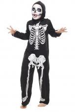 deguisement tunique squelette