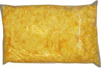 Sachet de confettis jaune 1 kg