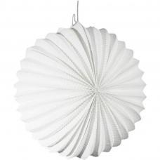 lampion rond blanc 22cm