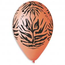 ballons motif jungle orange