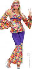 deguisement hippie femme en velours