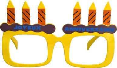 lunettes joyeux anniversaire