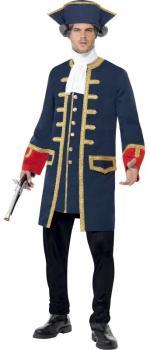 Déguisement Pirate Commandant Homme