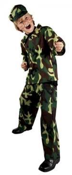 Costume Soldat Enfant