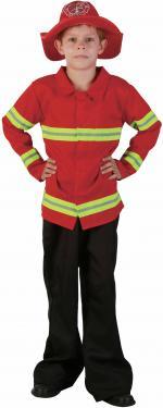 Costume Pompier Luxe Enfant