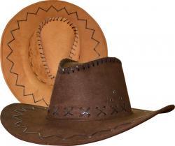 Chapeau Cowboy Texas Marron