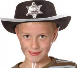 Garantie de satisfaction à 100% Los Angeles Vente chaude 2019 déguisement : chapeau de cow-boy shérif enfant pas cher
