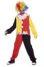 deguisement clown horrible