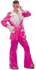 deguisement disco fushia pour homme