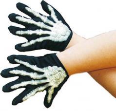 gants squelette enfant
