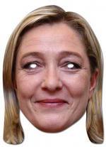 Déguisements Masque de Marine Le Pen