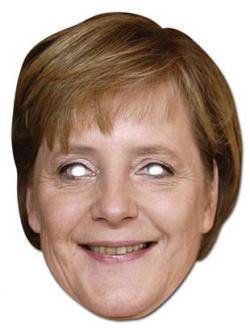 Masque Angela Merkel