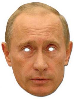 Masque de Vladimir Poutine