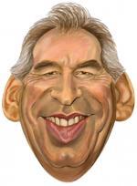 Masque Caricature François Bayrou