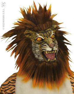 Masque Tigre Méchant