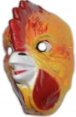 Masque de poule en plastique
