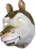 Masque cheval en plastique