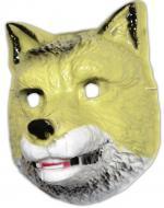 Masque de loup en plastique