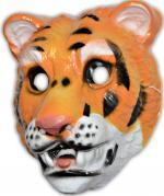 Masque tigre en plastique
