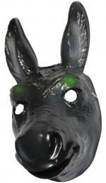 Masque d'âne en plastique